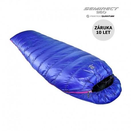 Péřový spacák Cumulus Semirect 350